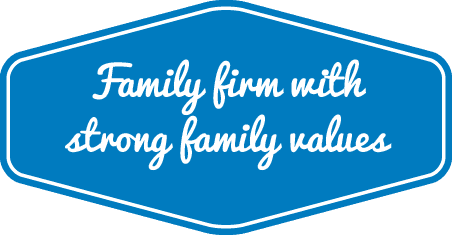 Family firm with strong family values
