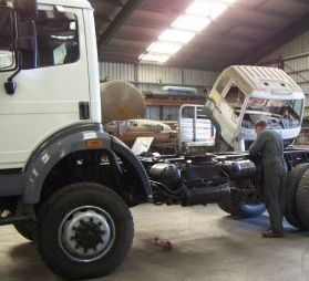 Truck Refurbishment and Servicing