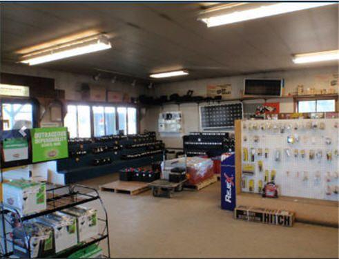 Inside the store in Soldotna, AK