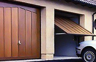 Domestic garage doors