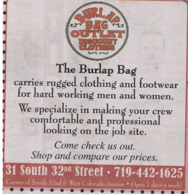 Friendly Service And An Unmatched Inventory Of Top Branded Working Gear When It Comes To Work Arel There S No Better Choice Than Burlap Bag