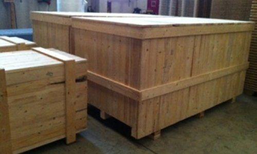 casse per imballaggio in legno-vista angolare