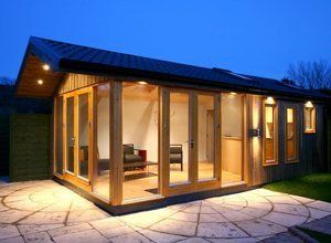 Garden office extension