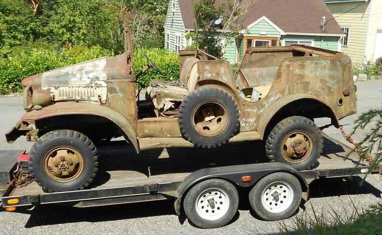 Vehicle Restoration - World War II Vehicles | Indio, CA | Rough