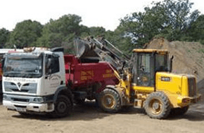 Civil engineering - Maulden, Bedfordshire - Harton Limited - Tipper Lorry