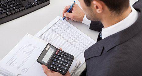 man planning a business venture