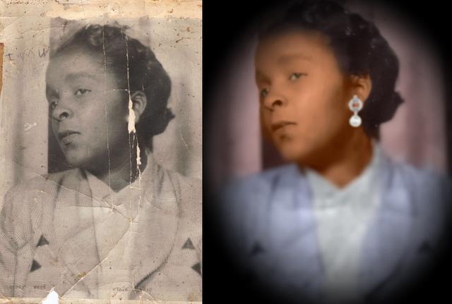 sample restored photo