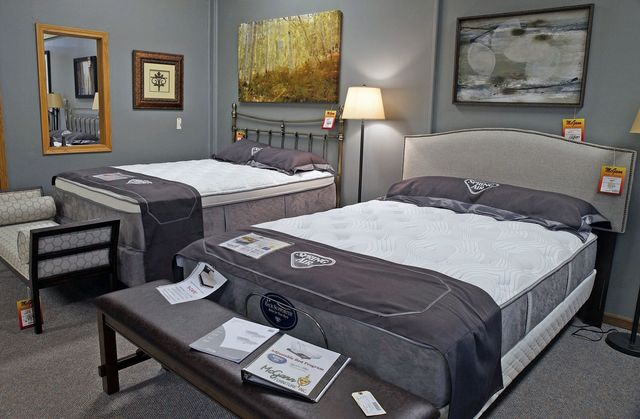 Visit Our Bedroom Furniture Mattress Department Upper Level Or Mcgann S 360 Virtual Showroom
