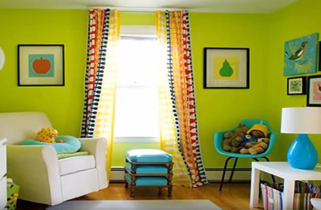 Living Room Interior Design: Color Ideas