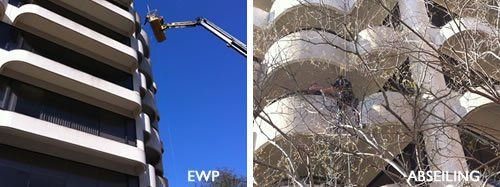 Facade Cleaning   Wall Cleaning   Building Wash-Down   Bird Dropping Removal
