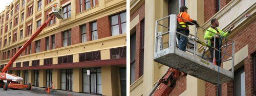 Facade Cleaning   Wall Cleaning   Building Wash-Down   Bird Dropping Removal   Heritage Building Clean   High Access Cleaning   Brick Cleaning