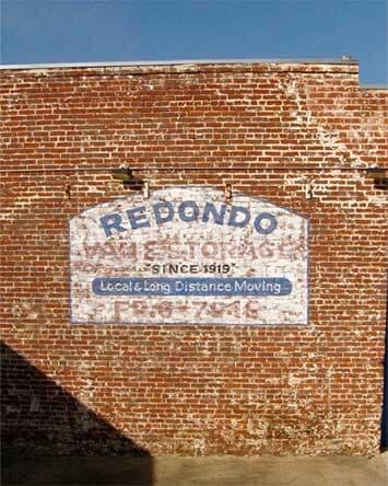 Redondo Logo On Wall   Redondo Beach, CA   Rednondo Van U0026 Storage