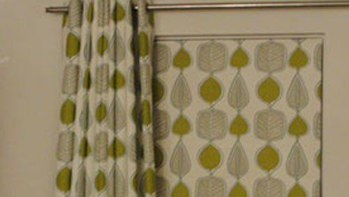 Handcrafted curtains