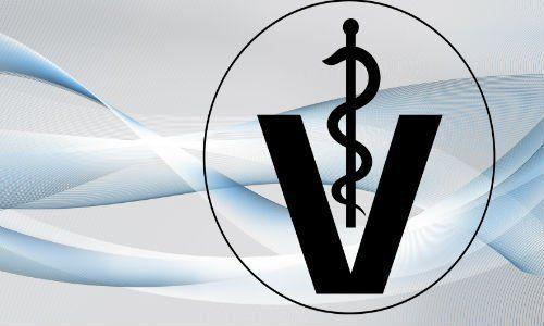 un logo Veterinario