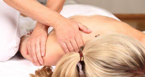 Physiotherapist treatment