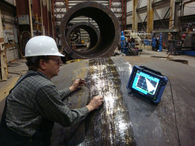 AUT, welds, non destructive evaluation