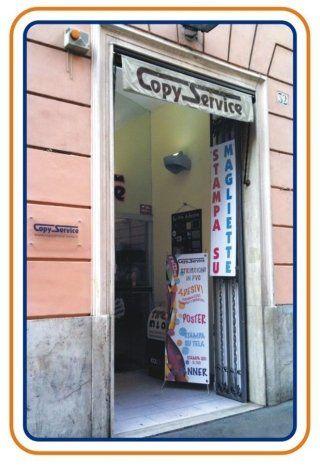 ingresso negozio copy service