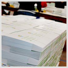 stacks of paper