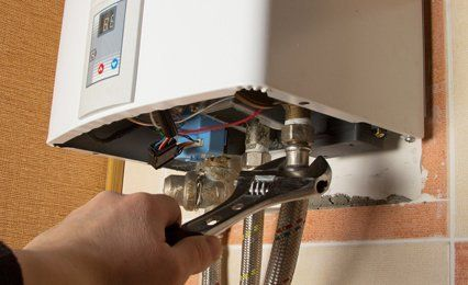 Boiler repair work