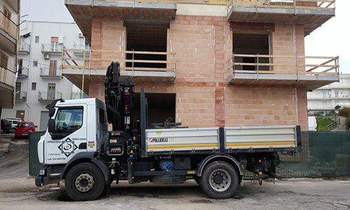 un camioncino da lavoro