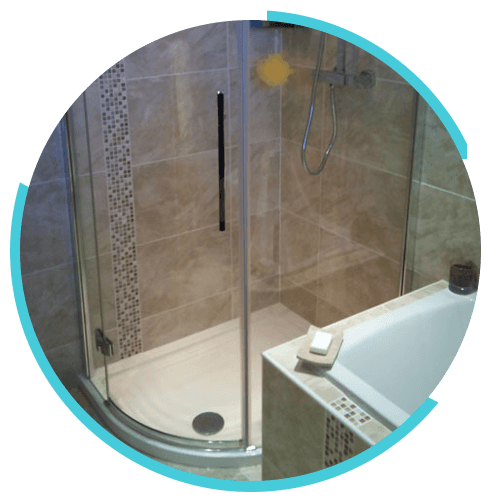 Fitted bathrooms design