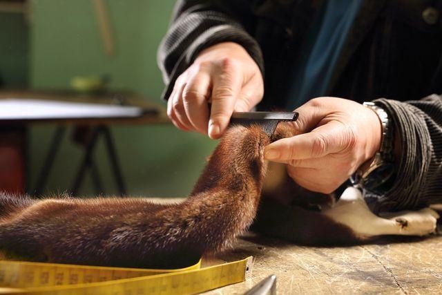 Riparazioni di pellicceria