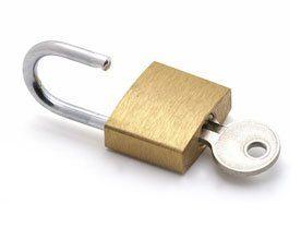 Masker keyed padlock
