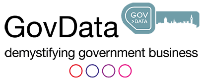 GovData demystifying government businesses logo