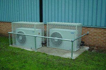 Cabinets Dairy - Market Place, Houghton Le Spring, Tyne and Wear - H.A.Davie Ltd - Air condition