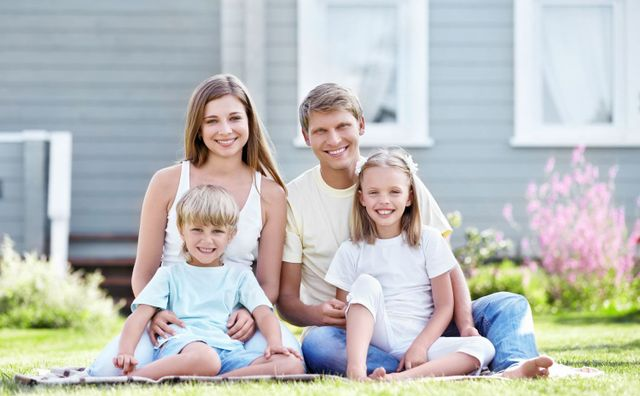 family with home and car insurance in Florence, KY
