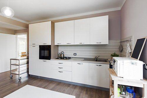 Cucina della casa di riposo Villa Arco