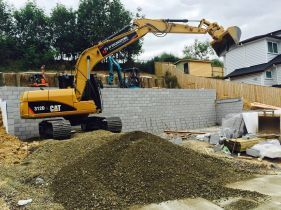 Excavation and landscaping machines in Auckland