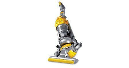 A vertical stand up Dyson hoover