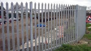 Security fencing installation