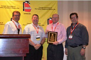 ASSOCIATE MEMBER OF THE YEAR; BOBBY AGGEE AMEREX CORPORATION