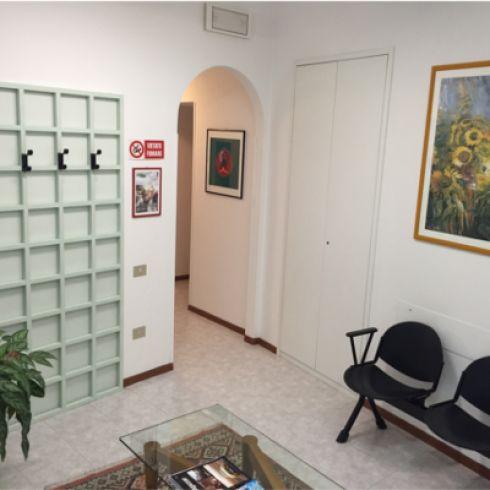 Sala d'attesa dello Studio di Elena Gasperini