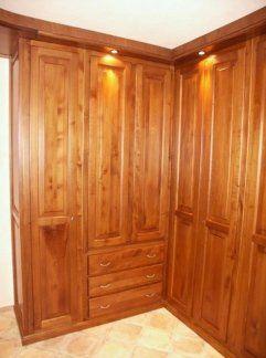 Camera adibita per armadi, cabine in tiglio, cabine armadio