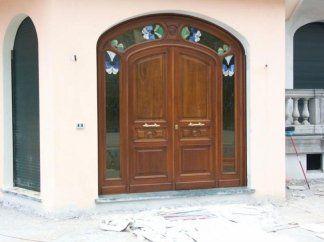Portoncino ingresso in legno rustico, portoncino in legno, portoncino ingresso