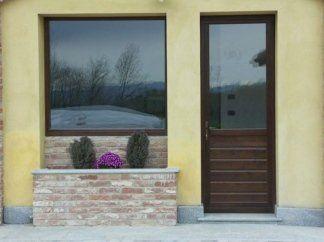 Portafinestra in legno, portafinestra, finestre su misura