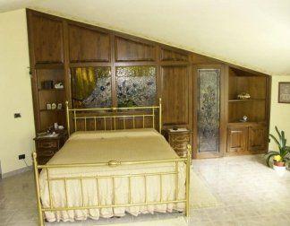 Cabina armadio per mansarda, cabina armadio, armadio angolare