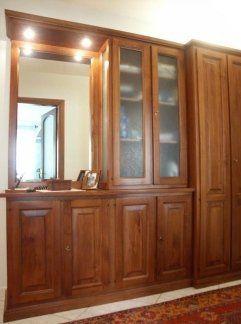 Mobile ingresso in legno, ingresso in legno, arredo ingresso