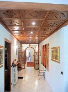 Boiserie  soffitto, rivestimento soffitto in legno, soffitto cassettoni