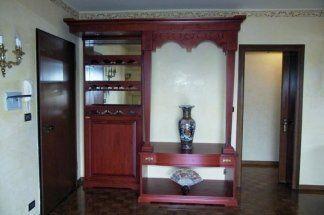 mobili in tiglio, mobili con decorazioni orientali