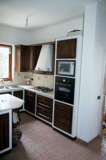 Cucina con mobili in rovere, cucina in rovere,  cucina componibile