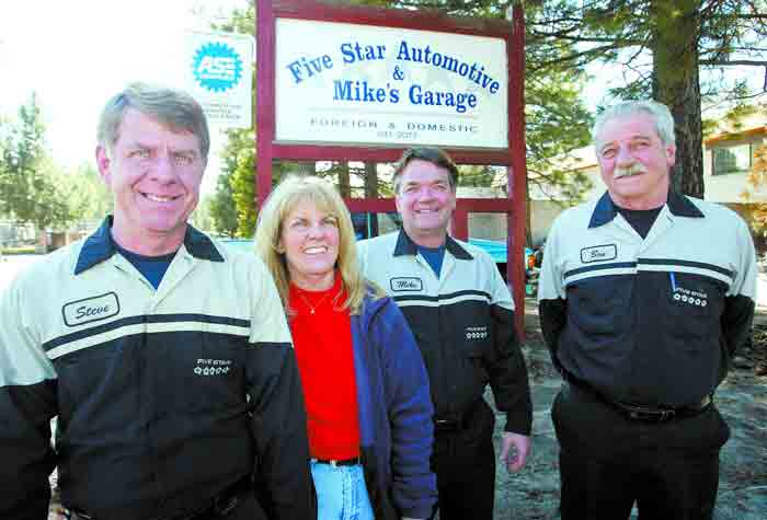 Five Star Automotive >> Auto Repairs South Lake Tahoe Ca Five Star Automotive