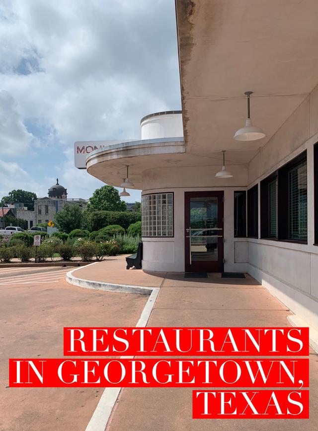 Restaurants In Georgetown Texas