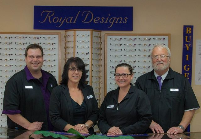 eyear optical royal designs