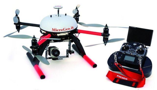 rilievo con drone