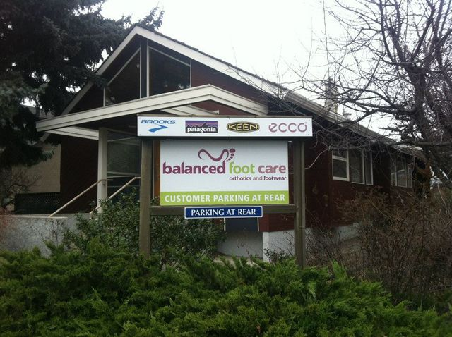 Balanced foot care storefront