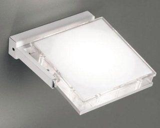 Plafoniere Quadrate Da Parete : Lampada led orientabile da parete quadrata como athena
